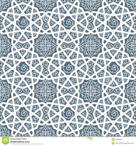 arab traditional pattern islamic traditional pattern stock illustration image