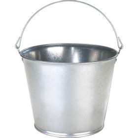 10 Quart Galvanized - 10 quart galvanized steel pail the cary company