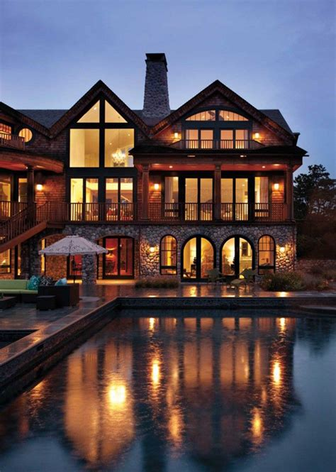 Mountain Floor by Luxury Mountain House Designs