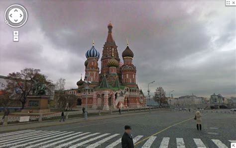 google russia google adds russia to its google maps street view