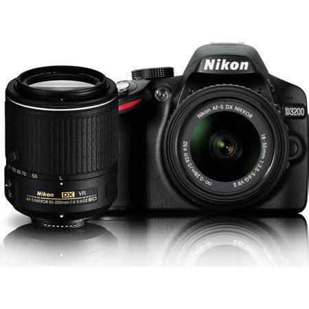 nikon d3200 dslr review nikon d3200 24 2 mp dslr dual vr ii lens kit with 18 55mm