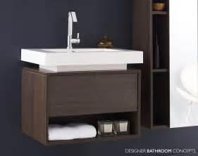 recess designer modular bathroom vanity unit rf302