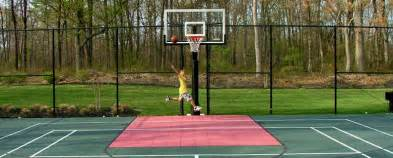Half Court Basketball Dimensions For A Backyard Residential Indoor Basketball Court Cost Images