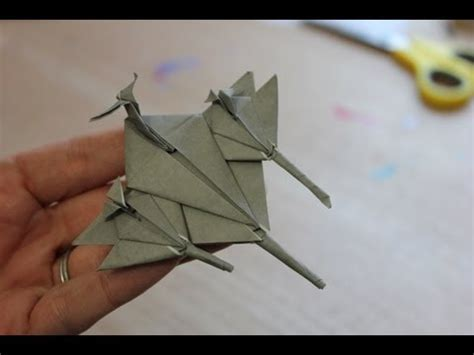 How To Make A Origami Fighter Jet - how to make an origami fighter jet plane