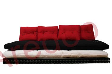 futon matrimonial divano letto futon pacha matrimoniale cotone tela
