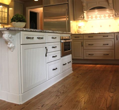 Built In Kitchen Island Kitchen Island With Built In Microwave Ideas Traditional Kitchen Cleveland By Jm Design