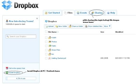 dropbox itu apa catatan adde november 2011