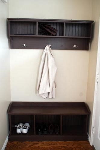entryway bench with hooks ana white entryway bench and storage shelf with hooks