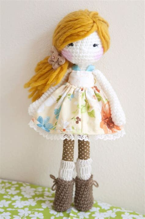 Handmade Dolls Patterns - handmade crochet dolls by linamariedolls on etsy rag