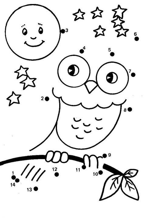 owl dot to dot printable dot to dot owls