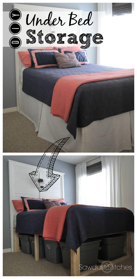 under bed organization creative under bed storage ideas the idea room