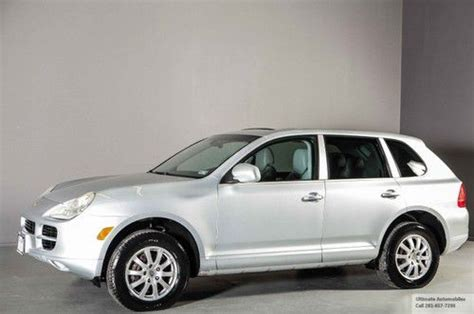 manual cars for sale 2005 porsche cayenne user handbook sell used 2005 porsche cayenne awd 6 speed manual sunroof
