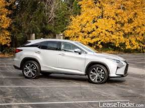 Lease Lexus Rx 350 2017 Lexus Rx 350 Lease Studio City California 305