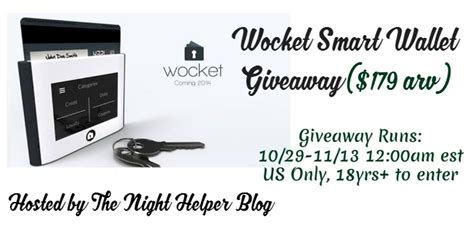Smart Giveaways Emails - wocket smart wallet giveaway
