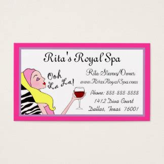 Day Spa Gift Card - day spa business cards templates zazzle