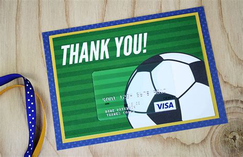 Does Subway Have Gift Cards - free printable this soccer gift for coach is a kick gcg
