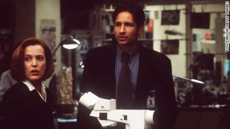 Duchovny Back On Tv by X Files Coming Back The Is Out There Cnn