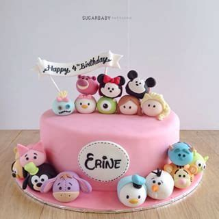 Cake Topper Tsum Tsum Poohfriends best 25 tsum tsum birthday cake ideas on tsum