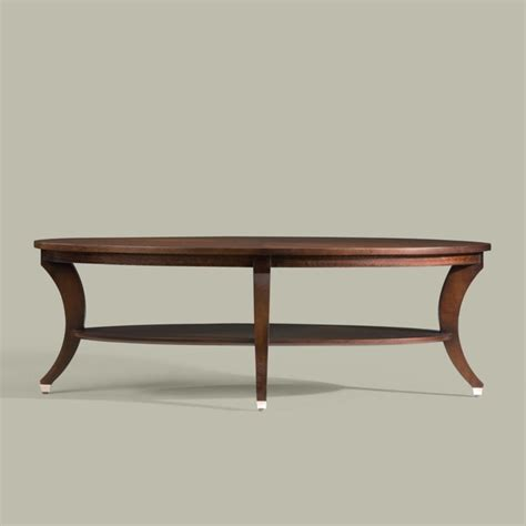 modern adler oval coffee table traditional