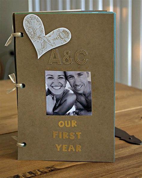 1 year anniversary gift ideas boyfriend diy one year anniversary scrapbook gift for boyfriend