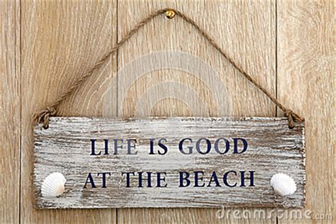 life  good   beach stock photo image
