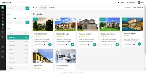 50 Best Real Estate Website Templates Free Premium Freshdesignweb Real Estate Listing Website Template