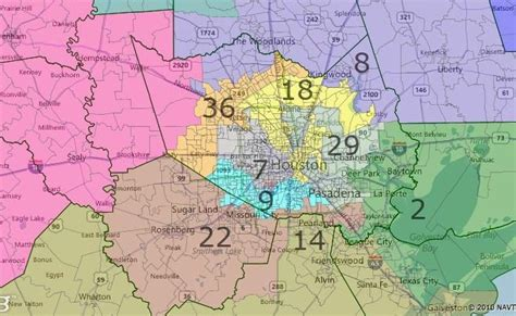 houston map by district races and redistricting fair redistricting map