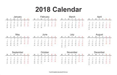 yearly calendar 2017 and 2018 printable calendar 25 free professional calendar