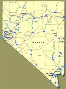 show me nevada towns