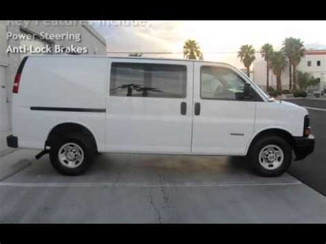 how to work on cars 2003 chevrolet express 2500 on board diagnostic system 2003 chevrolet express 3500 6 0l cargo van for sale in las vegas nv youtube