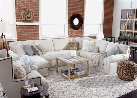shop sectional sofas retreat roll arm sectional with chaise sectionals