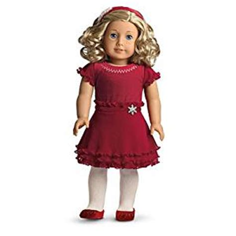 amazoncom american girl my american girl doll with amazon com american girl merry bright dress for dolls