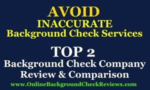 Top Background Check Site Best Background Check Site Comparison Announced By Background Check Solutions