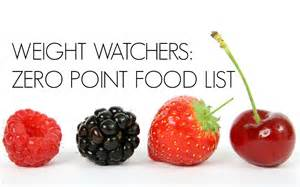 72 zero point weight watcher foods sarah scoop