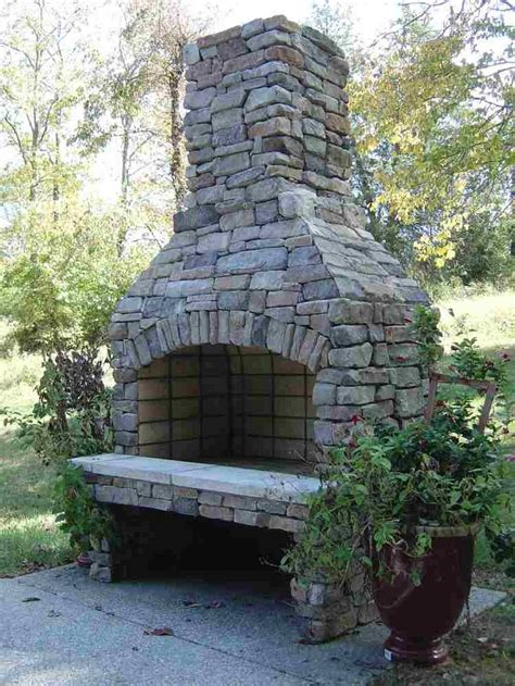 Backyard Manufacturing Ideas 25 Best Ideas About Outdoor Wood Burning Fireplace On