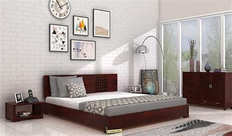 low floor beds damon low floor bed size mahogany finish