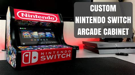 Nintendo Switch Arcade Cabinet Must Have Accessory For Your Nintendo Switch Youtube Nintendo Switch Arcade Cabinet Template