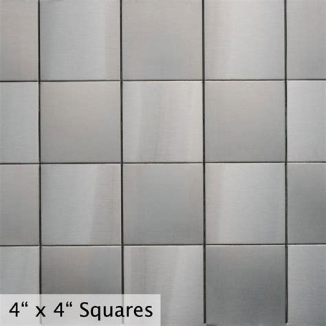 Ceramic Kitchen Backsplash Stainless Steel Backsplash Exact Fit Commerce Metals