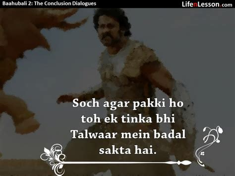 epic film dialogues these baahubali 2 the conclusion dialogues are just as