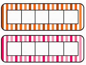five frame mackey s classroom math work mats