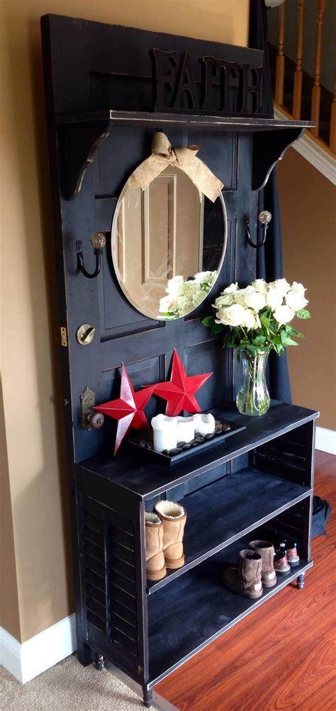 artistic  practical repurposed  door ideas