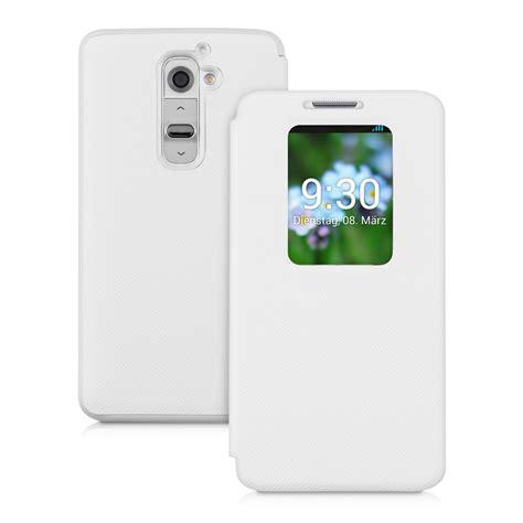 Flipcase Lg D682 kwmobile flip cover for lg g2 window slim back shell mobile phone bag ebay