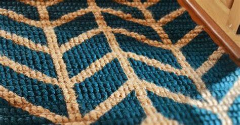 painted jute rug diy herringbone chevron painted jute rug by m dorsey designs post on october