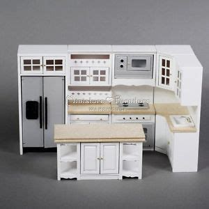 miniature dollhouse kitchen furniture 1 12 dollhouse miniature furniture model handcrafted white marble kitchen set 8 ebay