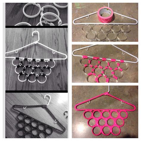 Diy Hanger - diy scarf hanger craft ideas