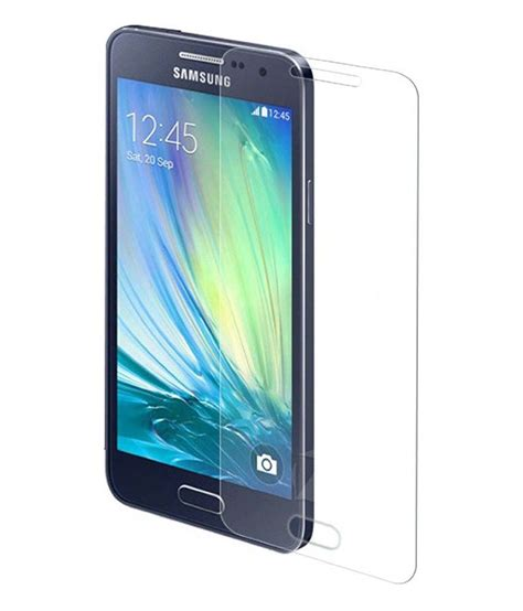 Tempered Glass A7 Samsung Galaxy A7 Tempered Glass Screen Guard By Sriven Buy Samsung Galaxy A7 Tempered Glass