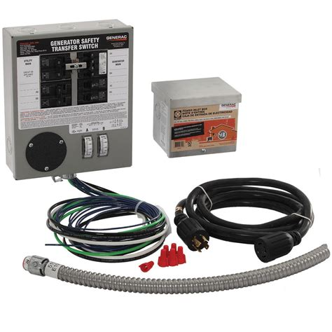 generac 30 indoor transfer switch kit for 6 10