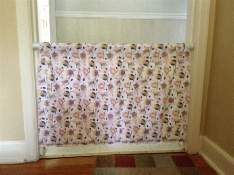 diy shower curtain rod diy baby gate with tension shower curtain rods things i