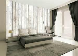 Moderne Tapeten Schlafzimmer Tapete In Holzoptik 24 Effektvolle Wandgestaltungsideen