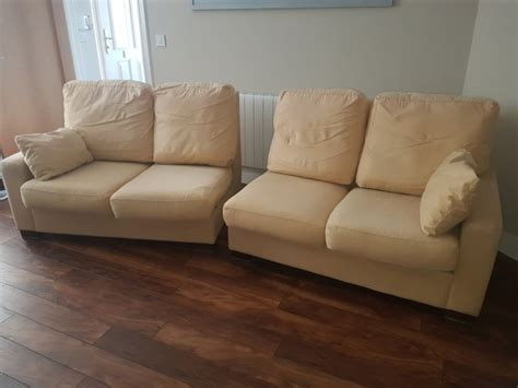 very sofas large and very comfortable 4 seater creamgold sofa for